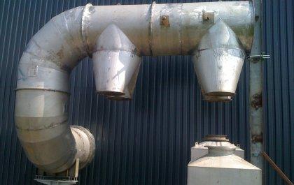 Inox luchtkanalen